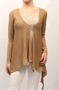 Immagine di CARDIGAN LIST DONNA TC/508 BEIGE