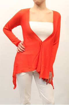 Immagine di CARDIGAN LIST DONNA TC/508 CORALLO