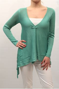 Immagine di CARDIGAN LIST DONNA TC/508 VERDE