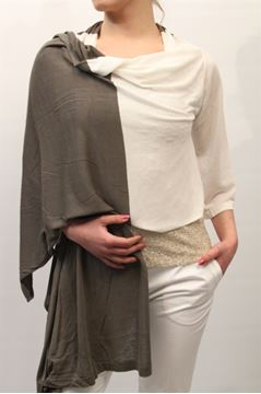 Immagine di CARDIGAN LIST DONNA TC/560 TORTORA