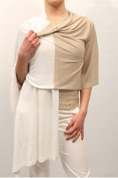 Immagine di CARDIGAN LIST DONNA TC/560 BEIGE