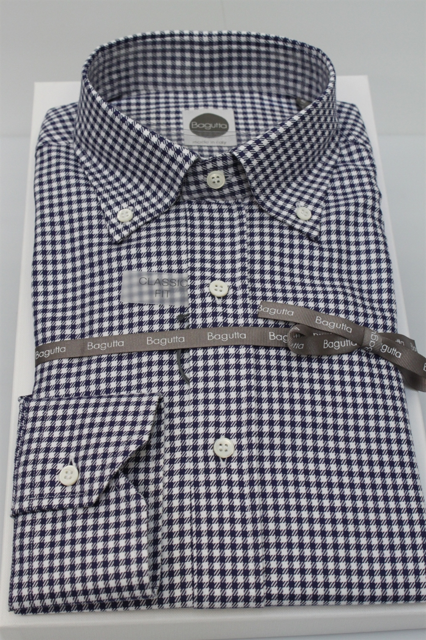 detailed look 79446 acc75 CAMICIA BAGUTTA UOMO AA140L 02008 QUADRI