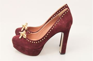 Immagine di SCARPE TWIN-SET DONNA CTA3ED VIOLA BORDEAUX