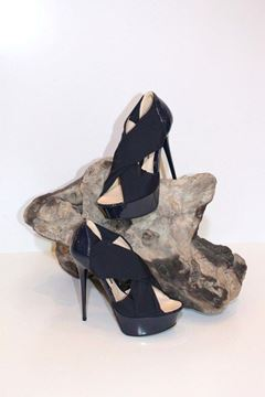 Immagine di SCARPE LEFT AND RIGHT DONNA R149 BLU VERNICE