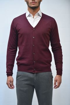 Immagine di CARDIGAN BECOME UOMO 542390 BORDEAUX
